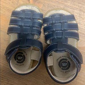 Livie & Luca Navy sandals